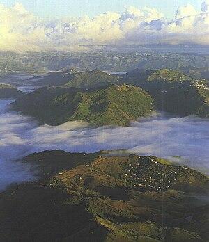 Cayey, Puerto Rico - Mist in Cayey.