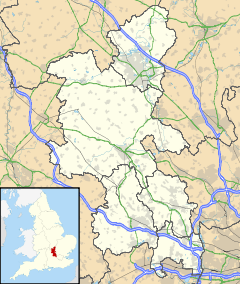 Cheddington is located in Buckinghamshire