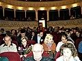 Bucuresti, Romania. Teatrul ODEON. 2 Martie 2018 (sala inainte de spectacol).jpg