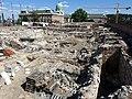 Budapest, Szent György Square, Medieval royal castle ruins 02.jpg