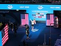 Budapest2017 fina world championships 100breaststroke final lilly king usa.jpg