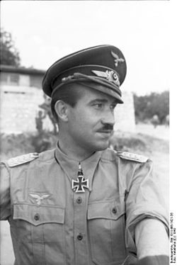 Adolf Galland en 1943