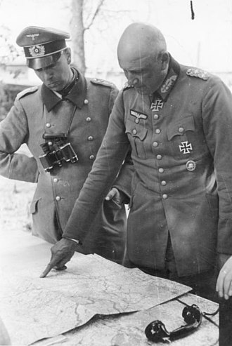 Adolf Strauss (general) - Adolf Strauß (right)