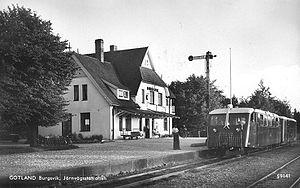 Burgsvik - Burgviks station