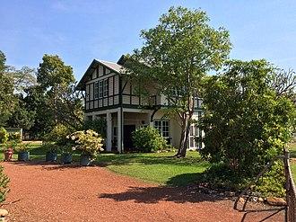 Burnett House (Darwin, Northern Territory) - Burnett House at Myilly Point in Darwin