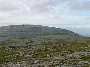 Karstic landscape in the Burren