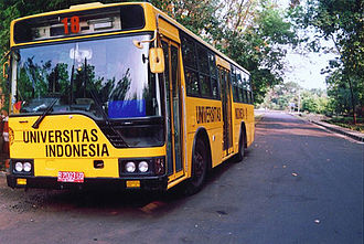 University of Indonesia - The Yellow Bus