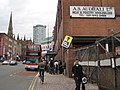 Bus stop, Digbeth - geograph.org.uk - 1836919.jpg
