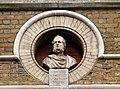 Bust of the 14th Earl of Derby, Great Windmill Street.jpg