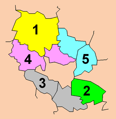 Electoral districts.
