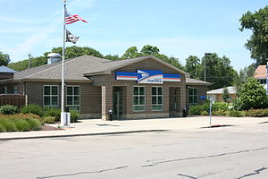Byron, Illinois - Post Office in Byron.