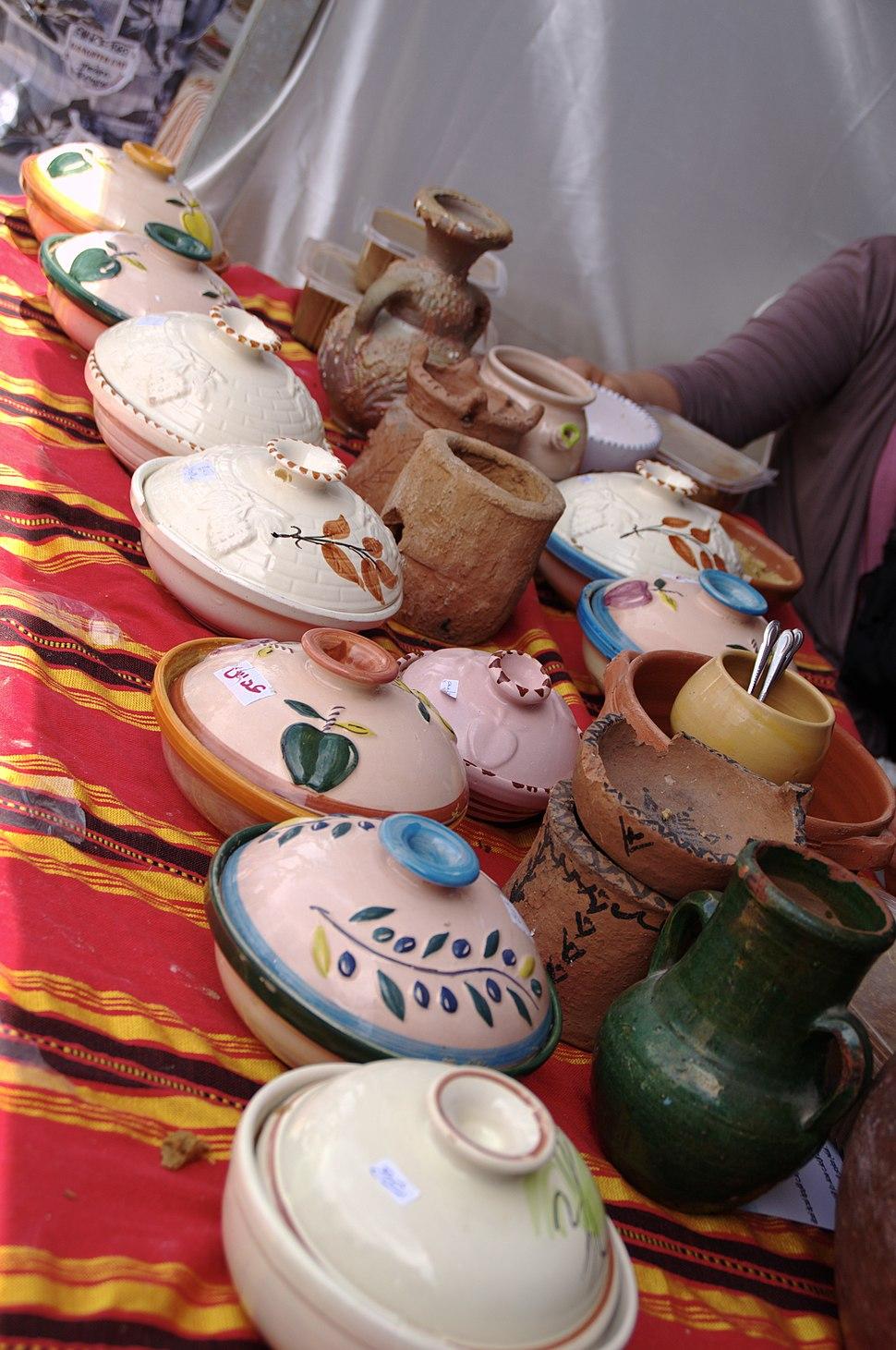 Céramiques pour bsissa, Lamta Tunisie, mai 2013