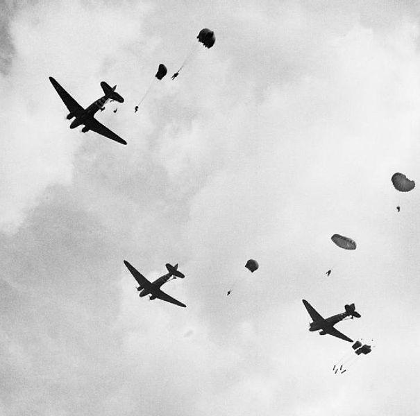 File:C-47 Dakotas and paratroops.jpg