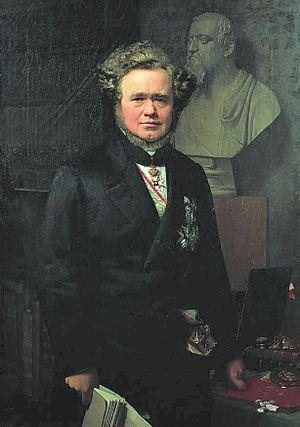 Carl Christian Hall - Hall painted by Johan Vilhelm Gertner in 1864