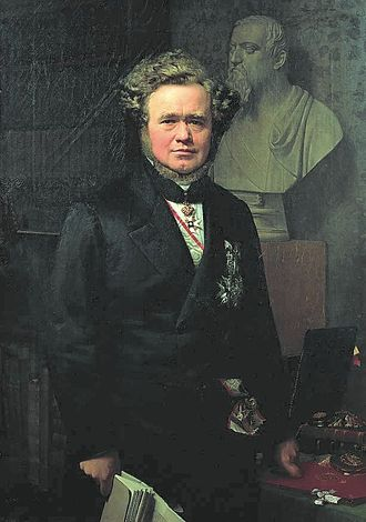 Carl Christian Hall - Hall painted by Gertner in 1864
