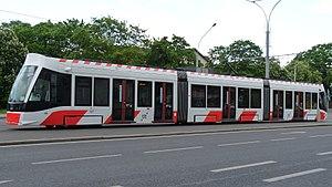 Tallinna Linnatranspordi AS - CAF Urbos tram