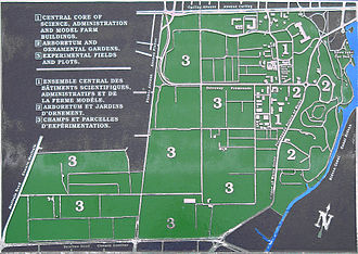 Central Experimental Farm - Overview map of the CEF