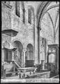 CH-NB - Romainmôtier, Abbatiale, Choeur, vue partielle intérieure - Collection Max van Berchem - EAD-7502.tif