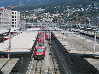 Chur railway station Swiss railway station