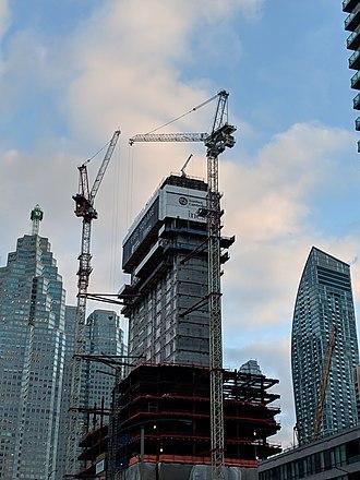 CIBC Square - CIBC Square under construction in March 2019.