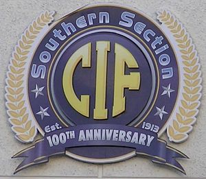 CIF Southern Section - CIFSS 100th Anniversary Logo