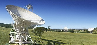 Canberra Deep Space Communication Complex - Image: CSIRO Science Image 11482 An artists impression of one of the two new antennas to be constructed at the Canberra Deep Space Communications Complex CDSCC