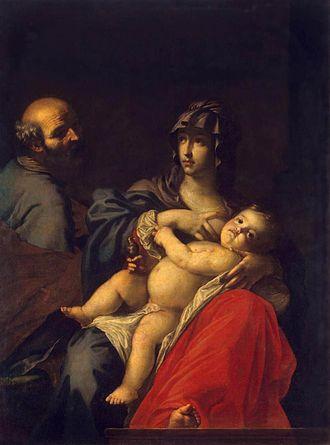 Cesare Dandini - Image: C Dandini Sagrada Familia Hermitage