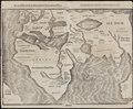 Ca. 1581 map of the Eastern Hemisphere - Die eigentliche und warhafftige gestalt der Erden und des Meers. Cosmographia universalis.tif
