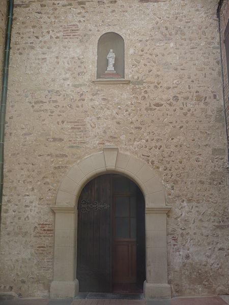 Portail de l'église Notre-Dame-des-Anges à Cabestany
