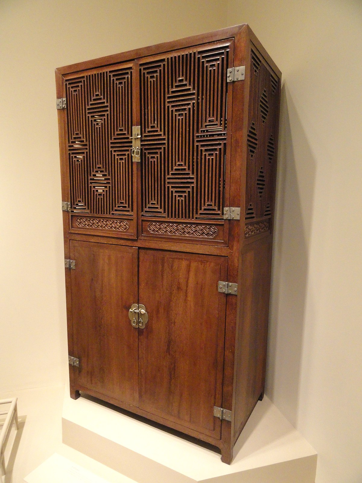 File Cabinet China Qing Dynasty 17th 18th Century