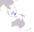 Cacatua sulphurea range map.png