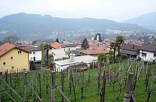 Quarter in Ticino, Switzerland