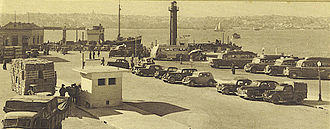 Cacilhas - At the ferry wharf in 1950
