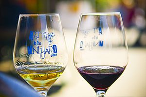 Image of two California wines.
