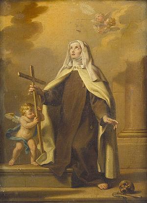 Margaret of Cortona - Image: Calvi J. A. Estasi di santa Margherita