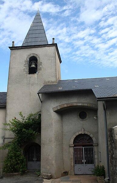 Cambon-et-Salvergues (Hérault) - église Saint-Pierre-et-Saint-Paul.