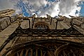 Cambridge - King's College Chapel 1446-1544 - North Gate - View on North Wall IV.jpg