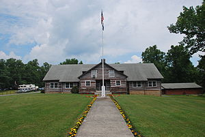 National Register of Historic Places listings in Fayette County, West Virginia - Image: Camp Washington Carver Great Chestnut Lodge