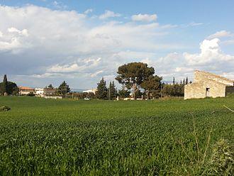 Alcamo - The countryside around Alcamo in spring