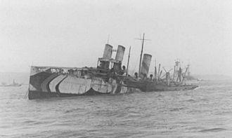 RMS Campania - The sinking of Campania