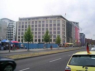 Canada House (Berlin) - Canada House in 2005