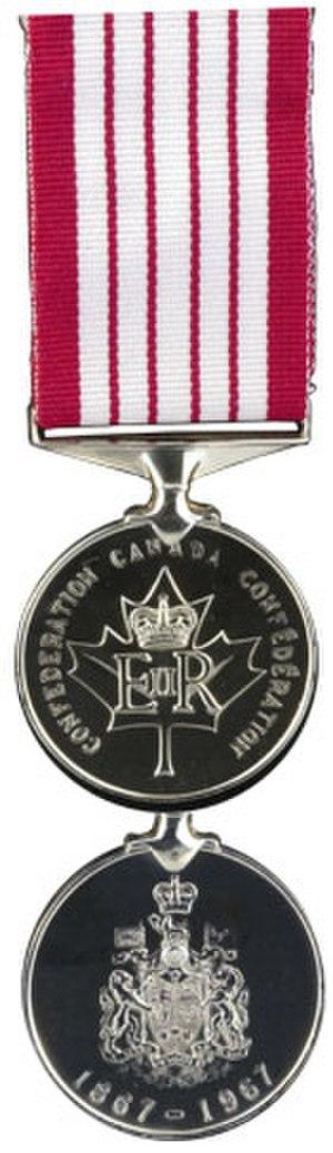 Canadian Centennial - Canadian Centennial Medal (1967)