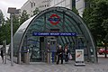 Canary Wharf tube station MMB 09.jpg