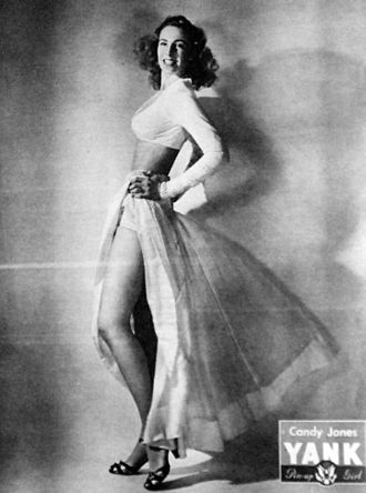 Candy Jones - Candy Jones in Yank magazine, 1945