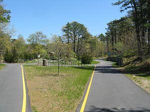 Harwich, Massachusetts - Cape Cod Rail Trail Rotary