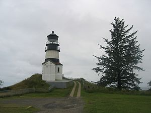 William Pope McArthur - Cape Disappointment Lighthouse