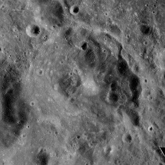 Capella (crater) - Apollo 16 image