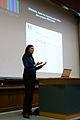 Capitole du libre 2012 - Adrienne Alix, Wikipedia, Wikimedia et apres - Wikidata.jpg