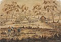 Capture of Thomas and James Clarke bushrangers 1867 G. Lacy a5383001.jpg