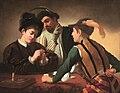Caravaggio, i Bari, Clerkenwell.jpg
